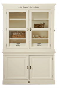 Skab - New England Fish Market Cabinet