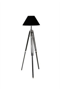 Gulvlampe sort - Floor Lamp Telescope