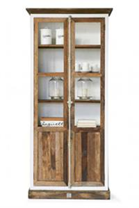 Skab - Driftwood Glass Cabinet