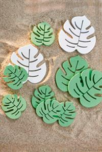 Dekoration - Mini  Monstera Decoration Leaves