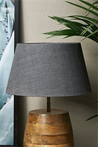 Lampeskærm - Loveable Linen Lampshade Charcoal