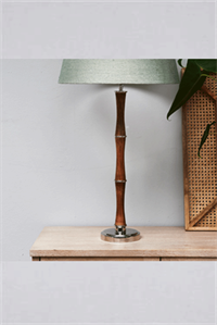Bordlampe - Lovely Bamboo Table Lamp
