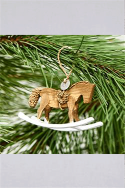 Juletræspynt - RR Rocking Horse Ornament