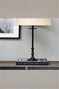 Bordlampe - L'Hotel Lamp Base Antique Black
