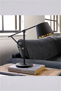 Bordlampe - Rockefeller Desk Lamp Black