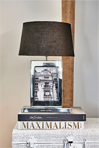 Bordlampe - Classic Club Photo Frame Table Lamp