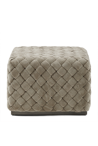 Puf - Room 48 Hocker,  Fine Tweed